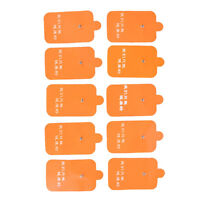 10X TENS Machine Replacement  Message Electrode Pads Self-Adhesive Reusable_UK
