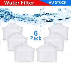 For Brita Maxtra 6PC Refill Replacement Water Filter Cartridges Cartridge Jug AU