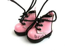 D02 Blythe Pullip Dal Momoko Lati Yellow Doll PINK Shoes Boots