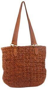 NEW Pierre Cardin Woven Leather Ladies Shoulder Bag (PC 3307)