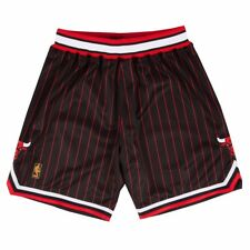 NBA Authentic Throwback Retro Shorts Collection by Mitchell & Ness Men's Chicago Bulls Black M