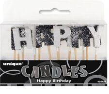 Decoración de color principal negro cumpleaños infantil para fiestas