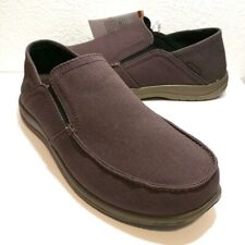 Crocs Santa Cruz Convertible Espresso/Walnut Brown Comfort Slip-On (204834-23B)