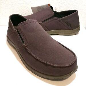 Crocs Santa Cruz Convertible Espresso/Walnut Brown Comfort Slip-On (204834-23B)