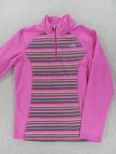 The North Face 1/2 Zip Base Layer Fleece Pullover (Girls XL 18) Pink