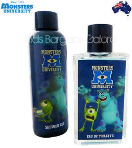 AUS Disney Pixar Monsters University EDT/Cologne/Fragrance & Shower Gel Set Boys