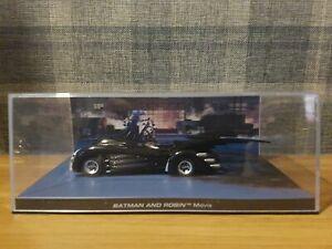 Eaglemoss BATMAN Automobilia Collection No 16 BATMAN & ROBIN MOVIE