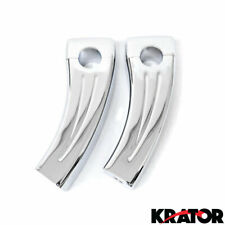 CUSTOM MOTORCYCLE CHROME HANDLEBAR RISERS FITS HARLEY DAVIDSON MOTORCYCLE BIKE