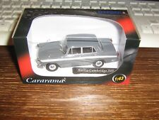 CARARAMA DIE CAST- AUSTIN CAMBRIDGE A60 - IN GREY WITH WHITE STRIPE - 1:43