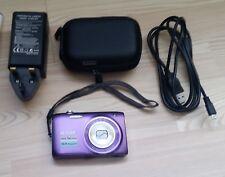 Nikon Coolpix S3100 Digital Camera, Chargeur, USB LEAD & Case.? défectueux
