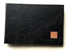 Black Faux Leather Photo Album, 4 x 6inch (10 x 15cm) Photos - Holds 36 Photos