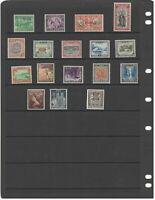 MATT'S STAMPS Lot of 17 MNHOG stamps from NIUE CV$21