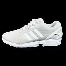 Adidas Originals ZX FLUX Running Shoes White Mens 11.5 S32277