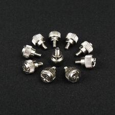 15 Stück Rändelschrauben für PC Gehäuse Metall Schrauben silber werkzeugfrei