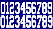 Full Size OR Replica Mini Size Football Helmet Number Decals for New York Giants