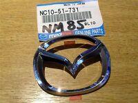 Front wings nosecone bumper badge, genuine Mazda MX5 mk2, NB 1998-2000 MX-5 64mm