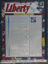 Canadian Liberty Magazine  November 10,1945  *Fred Cooper Cover* GREAT ADS
