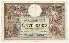 100 FRANCS (LUC OLIVIER MERSON )A29/5/1913 petit numéro 008 état TTB