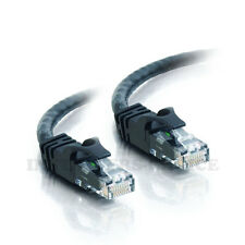 7 ft CAT6 Network Ethernet Patch Cable XBOX PS3 7 feet GIGABIT 500MHz Black