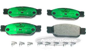 Disc Brake Pad Set-Ceramic Pads Front Tru Star CBP849
