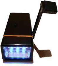 Dynamo Hand Crank 3 LED Pocket Wind up Emergency Flashlight