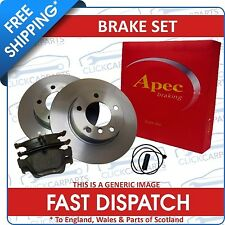 Bmw X5 E53 Front Brake Discs And Pads Inc Wear Sensor 00-07 3.0I 3.0D 4.4I