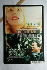 THE DIVING BELL AND THE BUTTERFLY  MINI POSTER BACKER CARD (NOT A MOVIE )