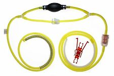 Gasoline, Diesel, Water Siphon Pump 9' Feet of Real Fuel Hose - Uni. Filter