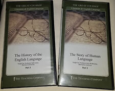 LIKE NEW Great Courses: Story of Human Language – Part 2 & 3 w Guidebook (#1600)