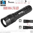 G700 X800 CREE XM-L T6 LED Tactical Zoomable 5000LM Flashlight Torch Light Lamp