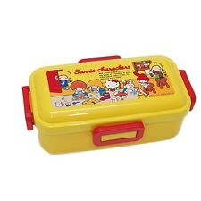 Hello Kitty My Melody Patty & Jimmy Sanrio Characters Bento Lunch Box JAPAN MADE