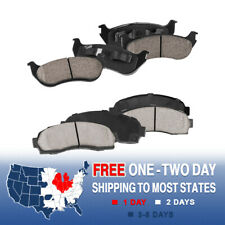 A-PADS Rear Premium Ceramic Brake Pads 2005 2006 Ford Explorer Sport Trac D881