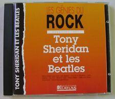 TONY SHERIDAN ET LES BEATLES (CD) HAMBURG 1961 -  LES GENIES DU ROCK