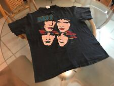 Vintage 1985 Kiss Asylum World Tour XL T-Shirt! See) Black Sabbath & Iron Maiden
