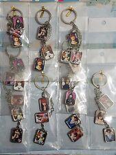 Death note anime Light, Naomi, L, Misa 3 mini photo keychain (2 for $12.50)