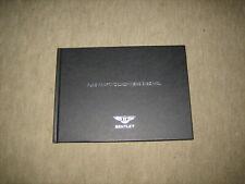 Bentley Continental Arnage Brooklands Prospekt Brochure von 10/2008, 52 Seiten