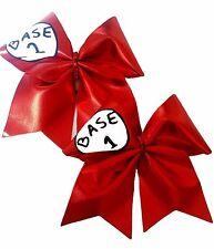 Set of 2 Base 1 and Base 2 Cheer hair bows