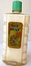 Anne French Cleansing Milk Trademark London Glass Bottle Rare Collectibles # 66