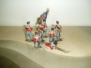 MIGNOT BRITISH INFANTRY TOY SOLDIERS