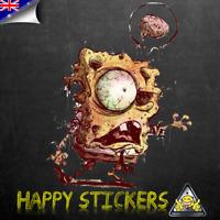 Zombie Undead Spongebob Car Skateboard Laptop Scooter Vinyl Decal Sticker