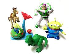 """DISNEY Pixar Toy Story 6"""" -3"""" figure, Buzz, Alien, Bullseye ecc. JOB LOTTO SET"""