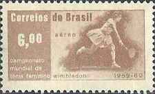 Timbre Sports Tennis Brésil ** lot 25915