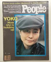 Vintage People Weekly January 12, 1981 Magazine Pre Owned Yoko Ono Lennon Jenner