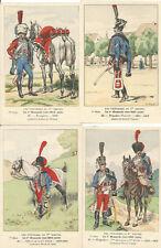 Cdt BUCQUOY - UNIFORMES 1er EMPIRE - Série 77 - le 1° HUSSARDS vers 1810 - suite