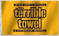 Pittsburgh Steelers Terrible Towel Flag 3x5 ft NFL Banner
