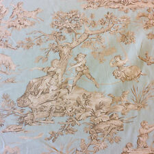 LHD006 Pastoral Toile Garden European Drapery Upholstery Home Decor Fabric