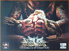 UPON A BURNING BODY World Is My Enemy Now 2014 HUGE New Poster+FREE Metal Poster