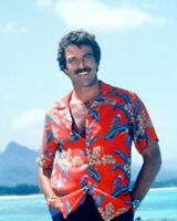 Tom Selleck Magnum P.I. 1980's 8x10 Glossy Photo