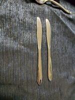 Oneida Stainless Dinner Knife, Rose Pattern, Flatware, Vintage