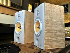 B&W (Bowers & Wilkins) DM601/S3, Custom Finish (Figured Maple), Mint Con. 1